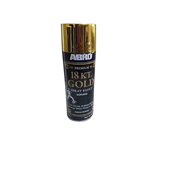 Strange Abro 18Kt Gold Spray Paint Home Remodeling Inspirations Genioncuboardxyz