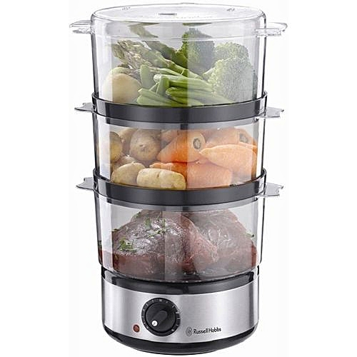Unique Food Collection Compact Food Steamer - 7 Litres