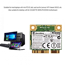 Dual-Band 2.4G + 5G Mini PCI-E Bluetooth 4.0 WIFI Wireless Card For For DELL/ Asus/ Acer for sale  Nigeria