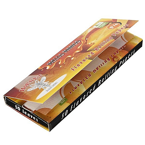 Cigarette Herb Rolling Papers 50 Leaves Mango