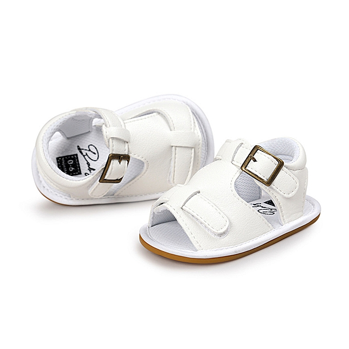 0cf84d796153 Fashion Baby Boys Sandals Anti-Slip Soft Sole First Walking Shoes ...