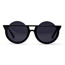 6ec7f129e57 Huanolohp Fashion Men Womens Retro Vintage Round Frame UV Glasses Sunglasses