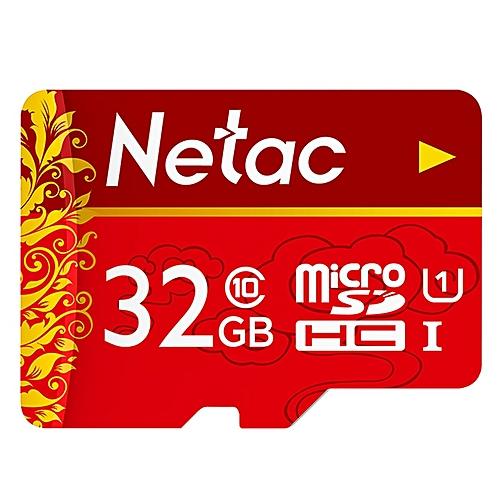 Netac P500 Micro SD Card UHS-1 Class 10 80MB/s 32GB-RED