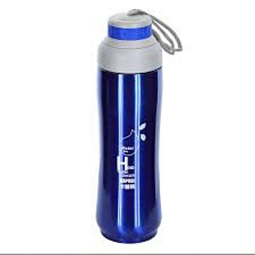 Stainless Steel Vacuum Sport Bottle - BLUE