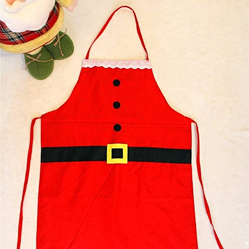 YEDUO Christmas Decoration Apron For Kitchen Dinner Party