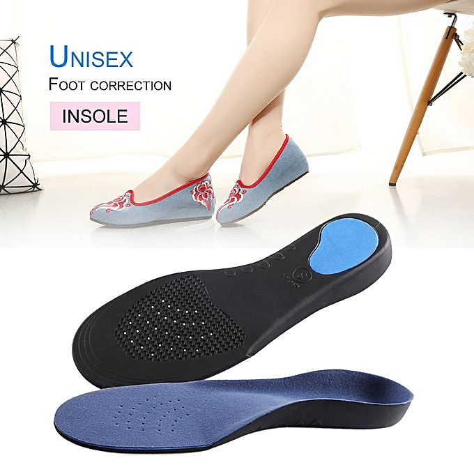 Generic DM 1 Pair Orthotic Flat Foot Arch Support Cushion Shoe ...