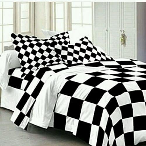 Duvet Cover Set (black And White)
