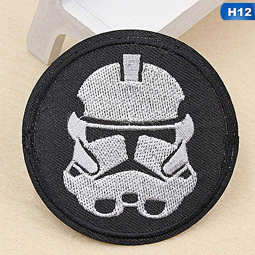 Eleganya Fashion Circular Creativity Exquisite Cute Style Embroidery Cloth Stickers H12