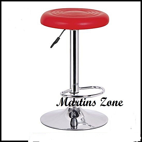 NEW Bar Stool -Leather And Chrome