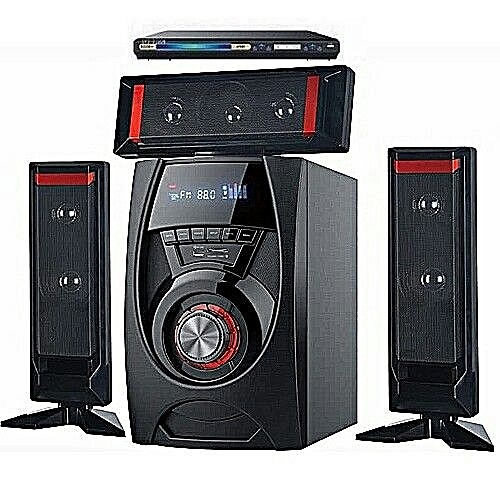 3.1 D-marc A22 Bluetooth Home Theater + DVD Playe. Durable