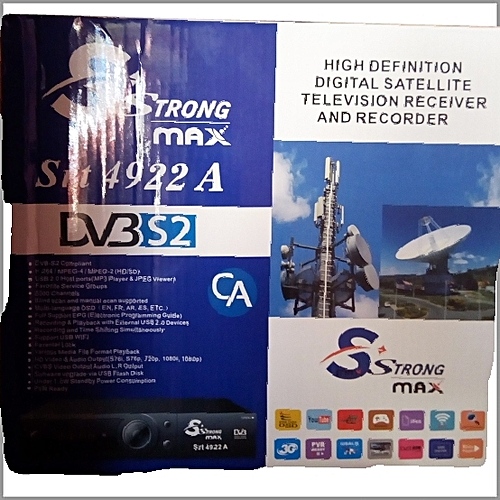 Strong MAX Srt 4922A Free To Air Decoder