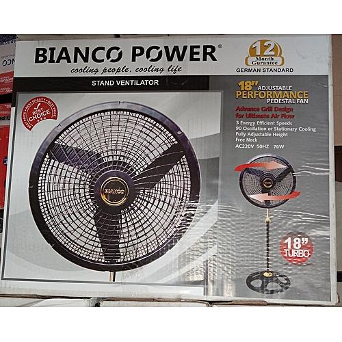 Standing Fan (03) Bianco Power
