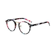 c6666a0c5fef Huskspo Fashion Unisex Classic Metal Frame Mirror Rounded Glasses