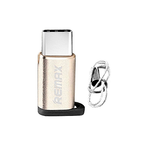 Micro USB To USB C ( Type C ) Adapter 2 In 1 Data Syncing And Charging Converts