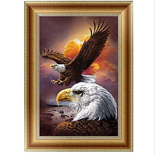 5D Eagle DIY Diamond Painting Embroidery Cross Craft Stitch Home Decor Art
