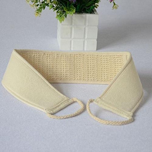 Natural Loofah Towels Universal Massage Chopping Brush Bath Rubbing Towel Beige