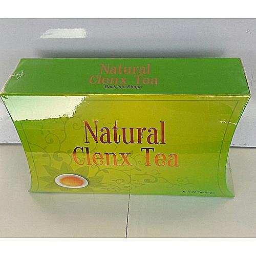 Clenx Organic Green Tea & Colon Cleanser