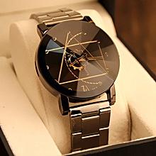 c08acbc2134 Gnedroty Fashion Watch Stainless Steel Man Quartz Analog Wrist Watch