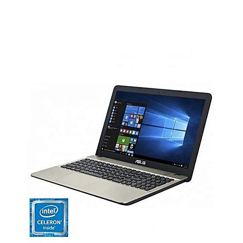 Vivobook X541SA-XO017T Intel Celeron Dual Core N3060 (500GB HDD 2GB RAM) 15.6 Inch Screen DVD-RW, Windows 10 Laptop - Black