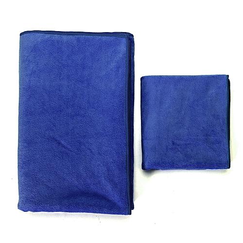 1Set/2Pcs Sport Towel Two Pieces Per Set 140*70cm 75*35cm Net Bag Ultrafine Fiber