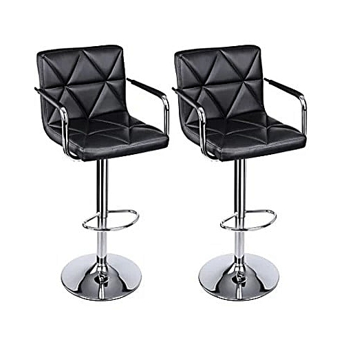 Adjustable Bar Swivel Chair Set