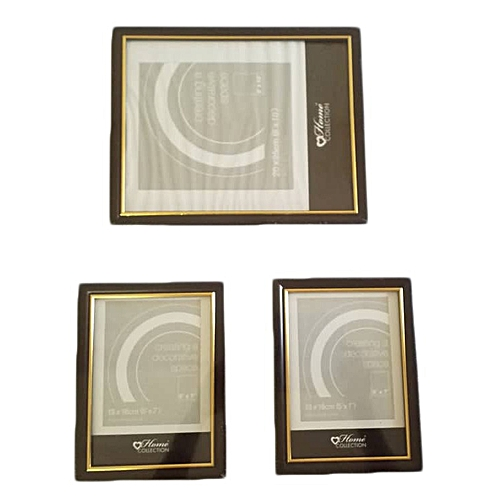 3 Photo Frames - 2nos.5 By 7 And 1no. 8 By 10