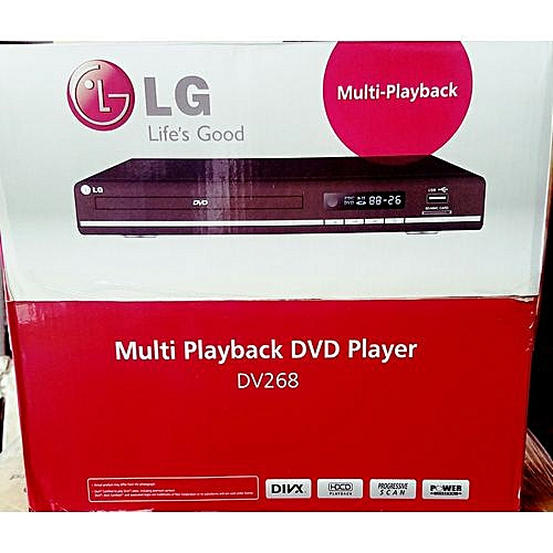 LG Dvd Player DV268 With Usb And Playback