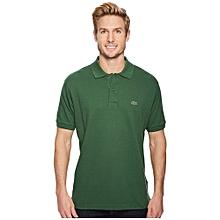 0600e4b6b Lacoste Short Sleeve Classic Pique Polo Shirt