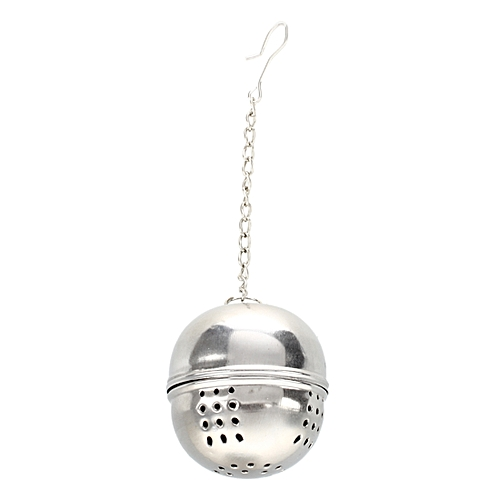 TEA BALL STRAINER INFUSER INFUSE METAL STAINLESS STEEL