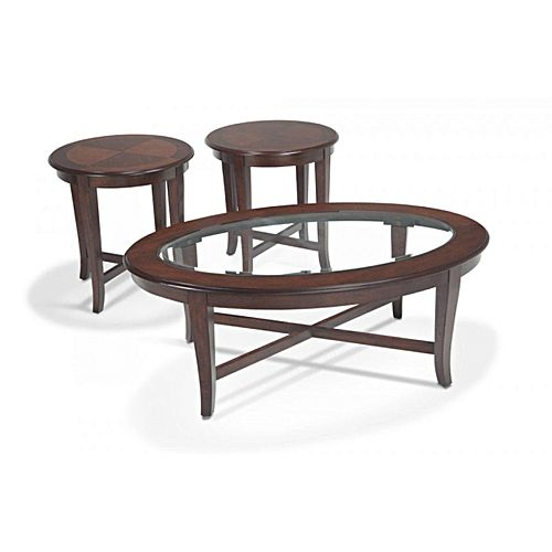 Buy Candium Brown Coffee Table Set Best Prices Online