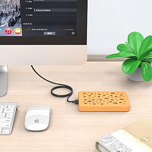 ORICO 2789U3 2.5 Inch Aluminum Alloy USB 3.0 Micro-B To SATA 3.0 Hard Drive Enclosure Storage Case With Random Color Delivery Silicone Cover