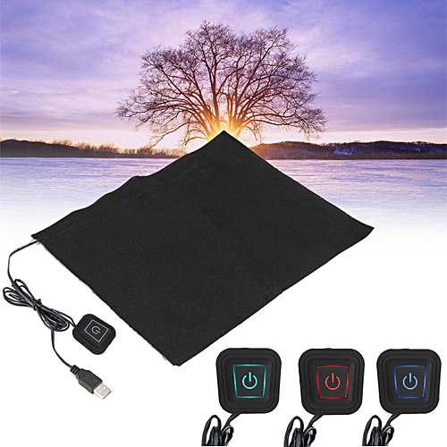DC 5V 3-Shift USB Electric Cloth Heater Pad Heating Element For Pet Warmer