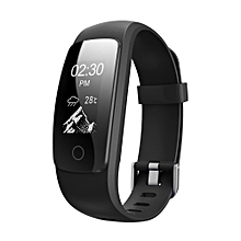 ID107 Plus HR Bluetooth Smart Bracelet Smartband Heart Rate Monitor Multi Sports Cardio Fitness Guided Breathing