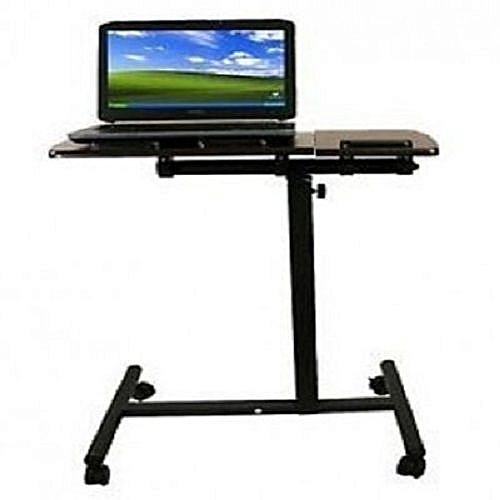 Adjustable Computer & Laptop Desk With Wheel
