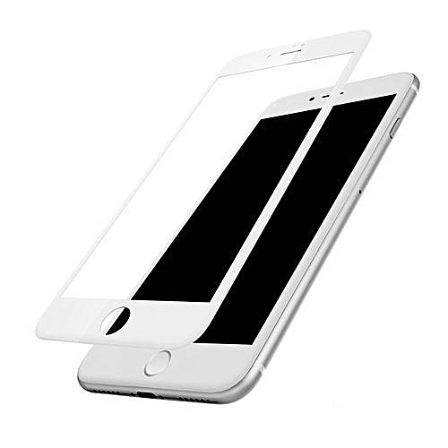 more photos 3ed78 cc6e1 5D Tempered Glass Screen Protector For IPhone 8 +Plus -White