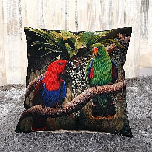 Home Textile Colourful Parrot Fashion Sofa