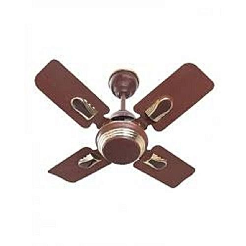 Orl 24 inches ceiling fan short blades brown buy online jumia nigeria - Ceiling fan short blades ...