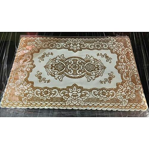 Beautiful Gold Dinning Table Mat 6 Piece Set