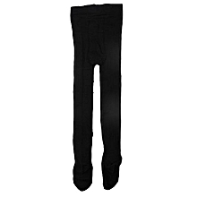 5c910bd0184 Plain Luxury Pop Socks Tight - 2 In 1pack -Black-SIZES RUN SMALL