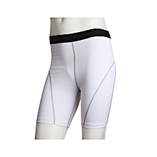 Men Compression Sports Running Pro Shorts Base Layer Cool Dry Training Athletic Fitness Shorts Tights - White for sale  Nigeria