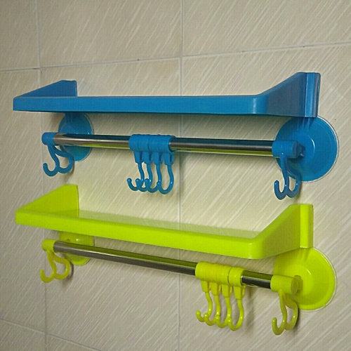 Bathroom Shelf Towel Rack Home Organizer 2pcs