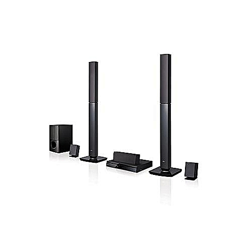 LG 1000 WATTS TALL BOYS HOME THEATHER LHD647B (black)