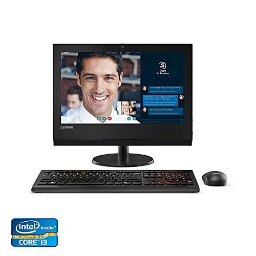 """Lenovo V310z Intel® Core™ I3-7100 Processor (3M Cache, 3.90 GHz) 4GB DDR4-2400 500GB 7200 RPM Intel® Integrated Graphics 19.5"""" HD+ Non-Touch Free DOS AIO Desktop - Black"""