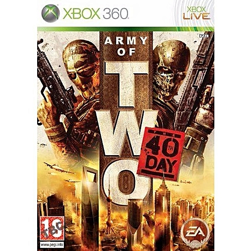 Army Of Two: The 40TH Day - Xbox 360 PAL