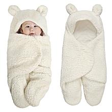 46797104a17 Newborn Baby Swaddle Wrap Soft Winter Baby Bedding Receiving Blanket Manta  Bebes Sleeping Bag
