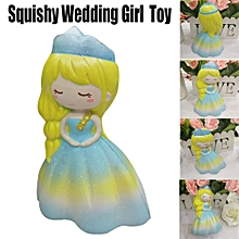 Hiamok Squishy Wedding Girl Squeeze Slow Rising Cream Scented Decompression Toys for sale  Nigeria