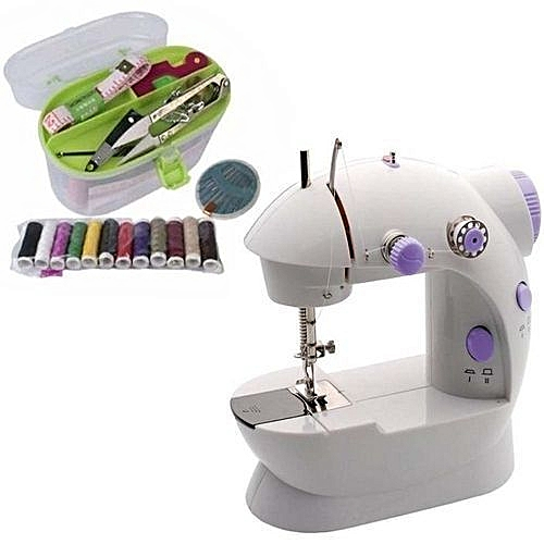 Mini Sewing Machine And Sewing Kit