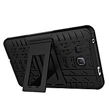 TPU + PC Armor Hybrid Case Cover For Asus Zenfone 3 Deluxe ZS570KL 5.7 Inch (Black)