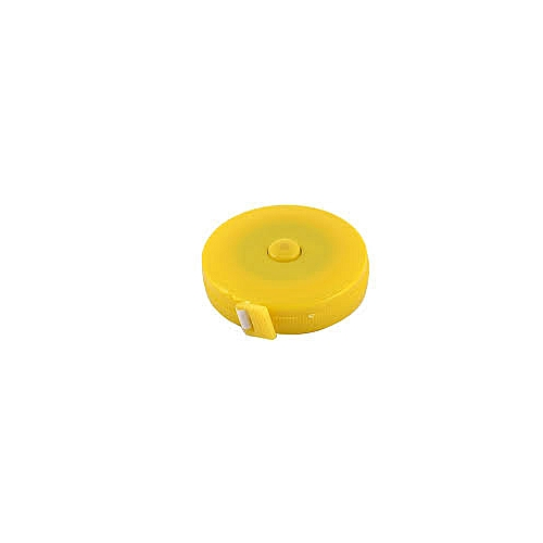 Retractable Ruler Measuring Tape - Yellow