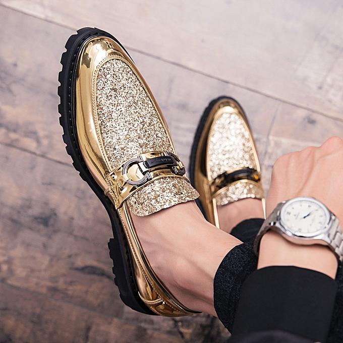 4a9389087c9 EUR 38-44 Luxury Men Dress Shoes Fashion British Style Mens Wedding Shoes  Slip-